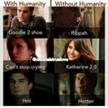 With Humanity | Without Humanity - the-vampire-diaries photo