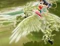 Wonder Woman rides on her Beautiful Pegasus - wonder-woman fan art
