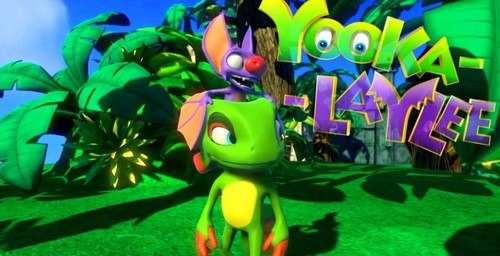 Video Games Wallpaper Probably With A Bouquet Entitled Yooka Laylee Spiritual Successor To Banjo