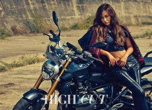 Yuri is a cool biker