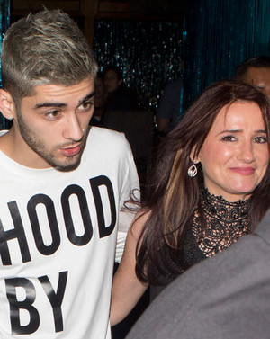 Zayn and Tricia At Mastros bife House