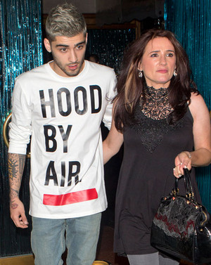 Zayn and Tricia At Mastros biefstuk House