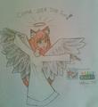angel - drawing photo