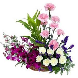 carnation arrangment