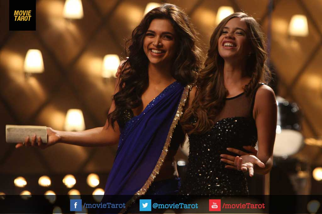 Deepika Padukone Images Deepika Padukone In Blue Saree Yeh Jawani