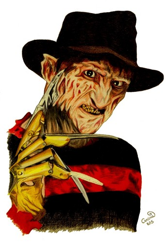 Freddy Krueger wallpaper with a fedora titled freddy