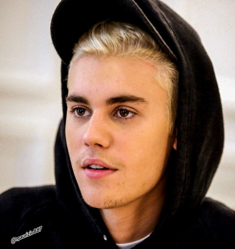 Justin Bieber wallpaper containing a cappuccio and a portrait titled justin bieber 2015