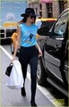 kendall jenner got her michael jackson top on - michael-jackson photo