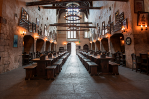 leaky cauldron empty