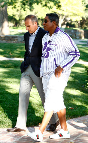 matt lauer and jermaine jackson