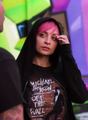 nicole richie got her michael jackson shirt on - michael-jackson photo