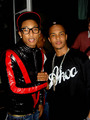 pharell got his michael jackson shirt on - michael-jackson photo