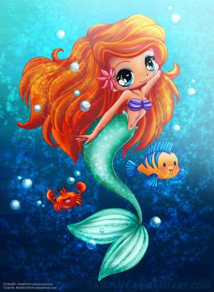 the little mermaid by mareishon d5l3buz