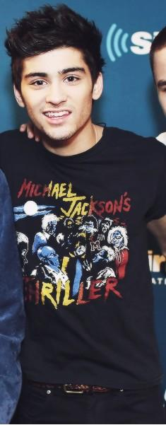zayn malik got his michael jackson camisa, camiseta on