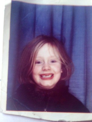 Adele's childhood 사진