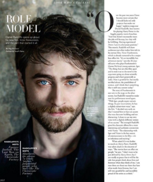 Angeleno Modern Luxury Magazine Covers Daniel Radcliffe (Fb.com/DanielJacobRadcliffefanClub)