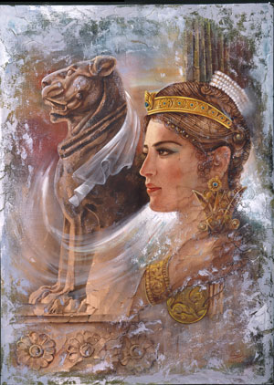 Artmiz-ancient famose persian lady