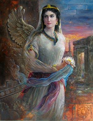 Aryats-ancient famose persian lady