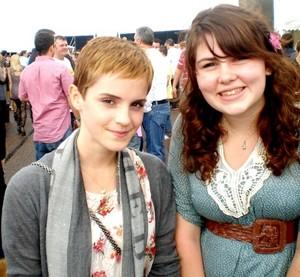 Emma with a Fan