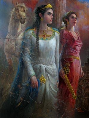 Gordiyeh-ancient famose persian lady