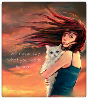 I'll Never say...