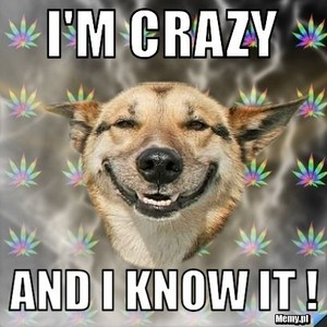 I m crazy and I know it MDR 38850800 408 408