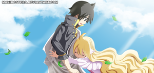 *Mavis hugs Zeref*
