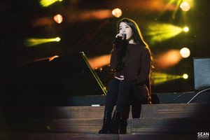 [Official Photo] 150919 IU at Melody Forest Camp concert