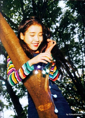 [SCANS] iu CHAT-SHIRE (by IUmushimushi)