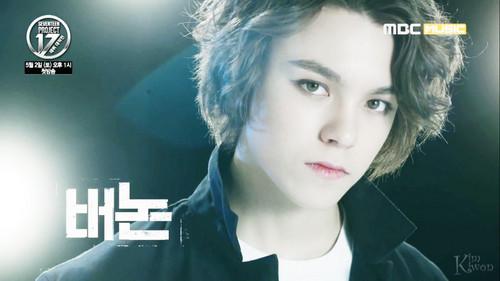 Seventeen Hintergrund with a portrait called ♥ SEVENTEEN ♥