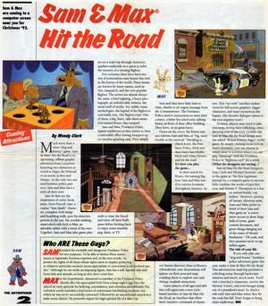 """""""The Adventurer"""" Magazine Scan"""