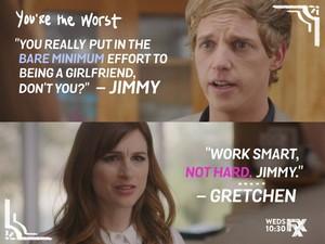 """""""Work Smart, not hard, Jimmy."""""""