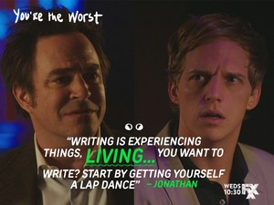 """""""Writing is experiencing things, LIVING..."""""""