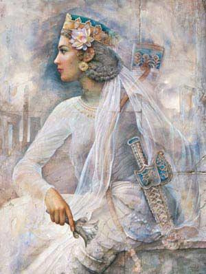 Zarbanoo-ancient famose persian lady
