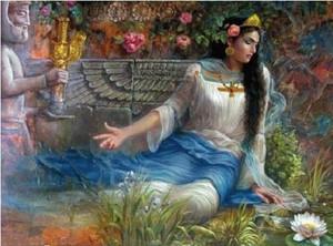 azarnahid-ancient famose persian lady