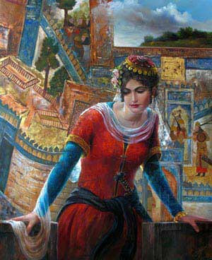 porandokht-ancient famose persian lady