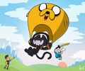 monstercat x adventure time yet again - adventure-time-with-finn-and-jake photo