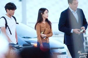 150828 IU At Incheon Airport Leaving for Shanghai