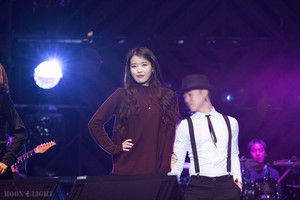 150919 IU at Melody Forest Camp concert