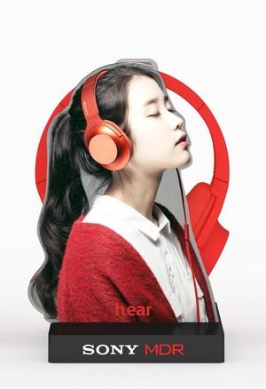 "151005 IU wallpaper for Sony Korea ""h.ear"" headphone"