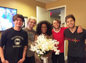 5Sos and Oprah