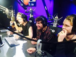 5Sos at BBC radio 1