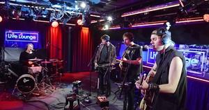 5Sos at BBC radio 1 - Live lounge