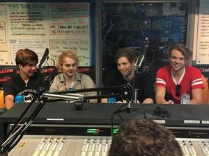 5Sos at KIIS FM