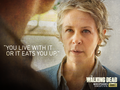 the-walking-dead - Carol Peletier wallpaper