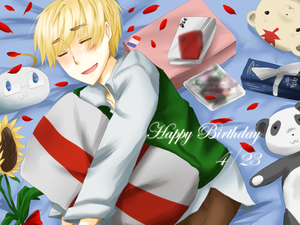 APH England Happy Birthday