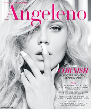 Abbie Cornish - Angeleno Magazine Cover - February 2014