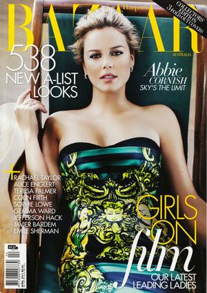 Abbie Cornish - Harper's Bazaar Australia Cover - May 2011