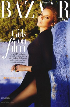 Abbie Cornish - Harper's Bazaar Australia Cover - May 2011