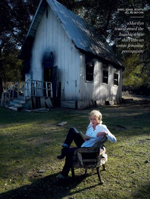 Abbie Cornish - Porter Magazine Photoshoot - Summer 2014